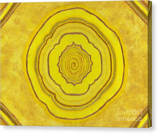 Solar Plexus Flower Canvas Print