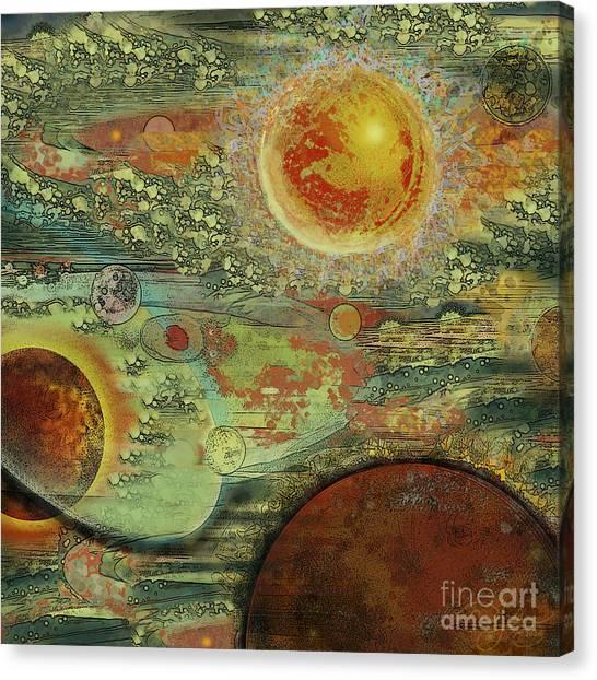 Solar Symphony Canvas Print