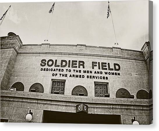 Soldier Field Canvas Print - Soldier Field by Jessie Gould