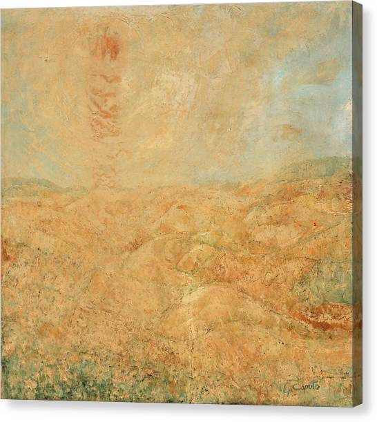 Sole Del Leone Di Forenza Canvas Print