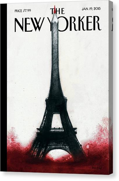 Solidarite Canvas Print