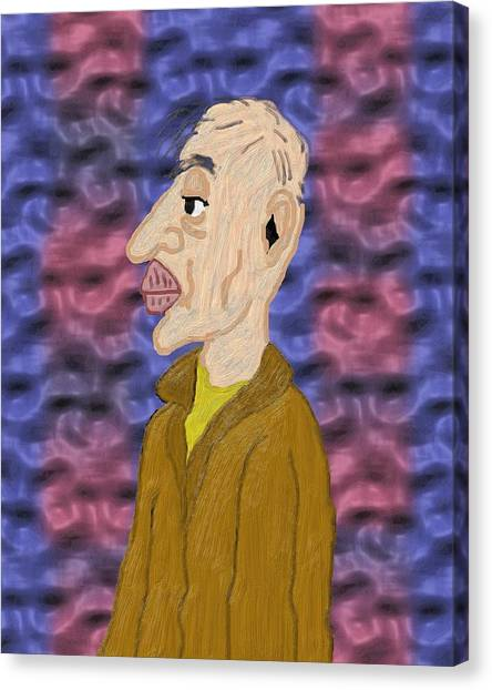 Solitary Twilight Years Canvas Print by Pharris Art