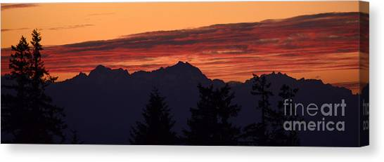 Solstice Sunset II Canvas Print