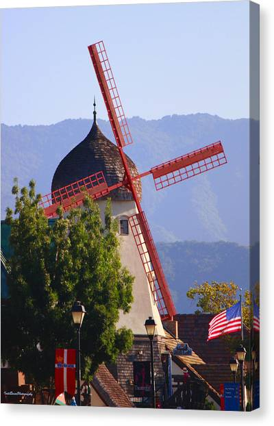 Solvang Windmill Canvas Print