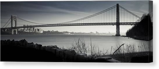 Somber Gwb Canvas Print by Chris Halford