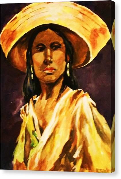 Sombrero Ll Canvas Print