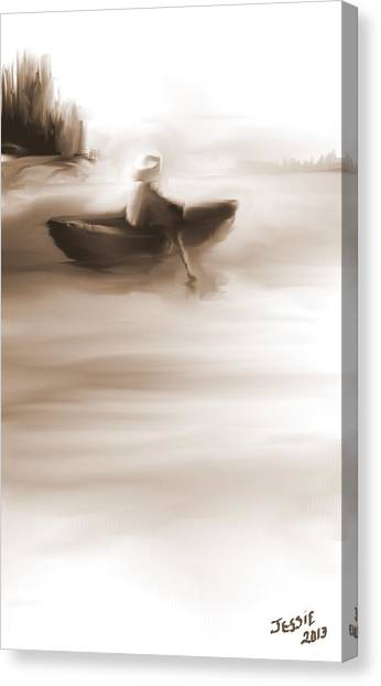 Some Alone Time Canvas Print