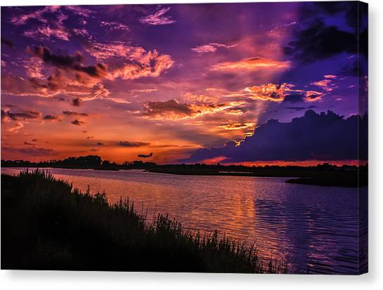 Some Enchanted Evening Canvas Print