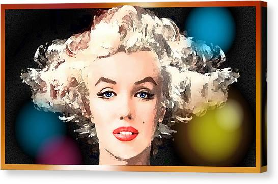 Marilyn - Some Like It Hot Canvas Print