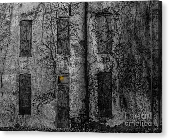 Someone's Home Canvas Print