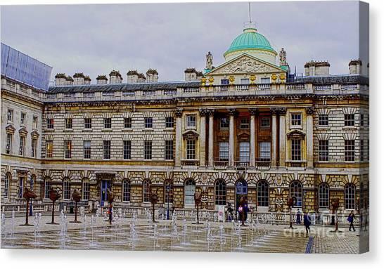 Somerset House Canvas Print