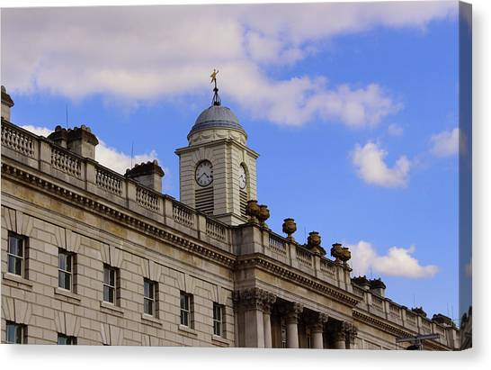 Somerset House Canvas Print by Nicky Jameson