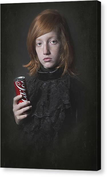 Soda Canvas Print - Something Old And  Something New by Carola Kayen-mouthaan