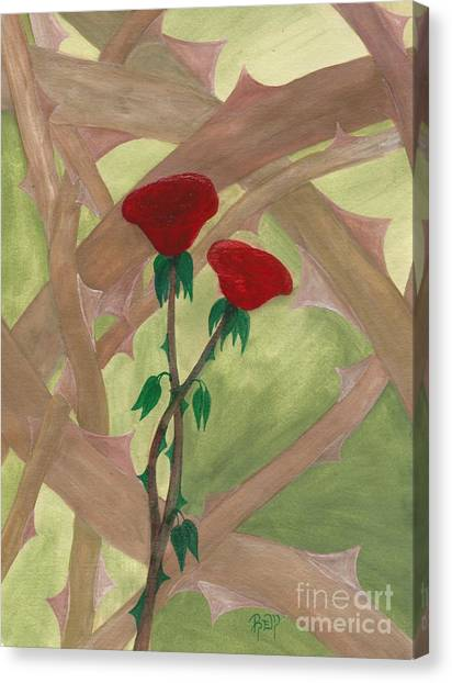 Something Simple Canvas Print by Robert Meszaros