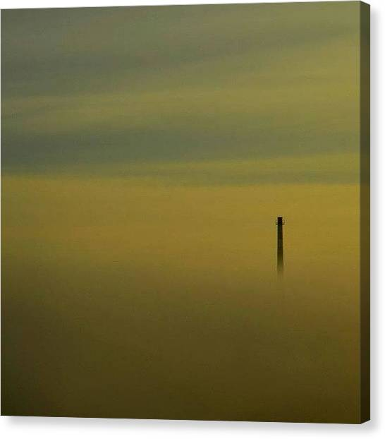 Apocalypse Canvas Print - Sometime Ago There Was A Little Foggy by Michal Sajban