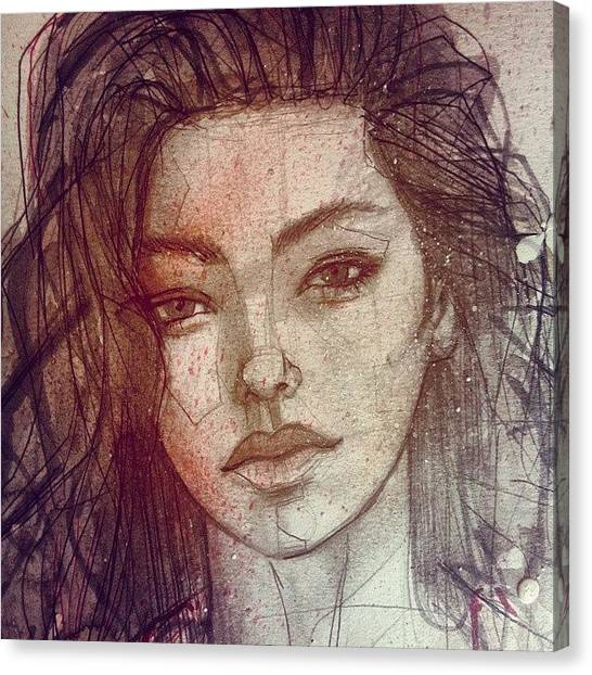 Ballpoint Pens Canvas Print - Adrianne Ho by Jef2D