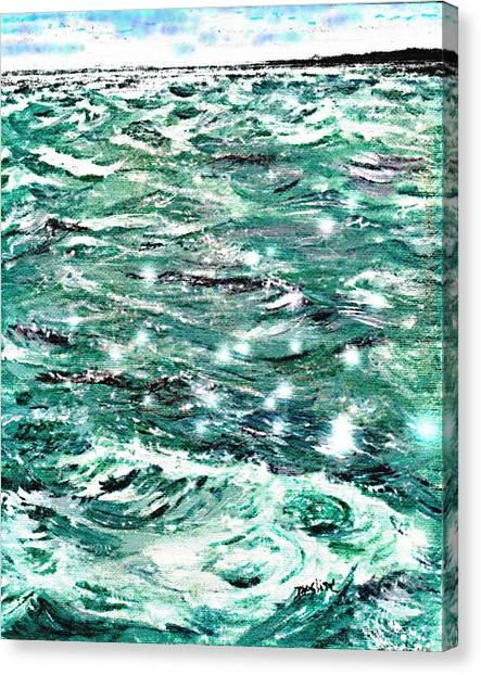 Somewhere Beyond The Sea Canvas Print