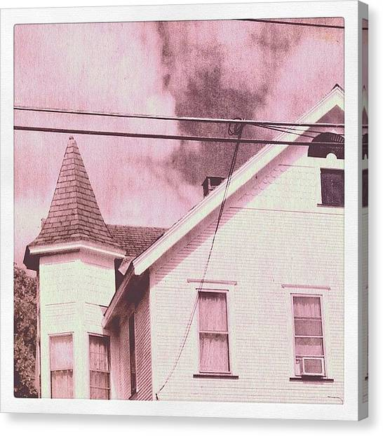 Jerseys Canvas Print - Somewhere I Can't Remember #house by Red Jersey