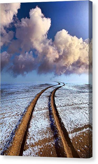 Offroading Canvas Print - Somewhere Over The Horizon by Phil Koch