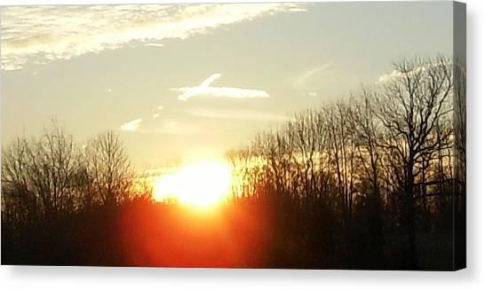 Son Above The Sun Canvas Print