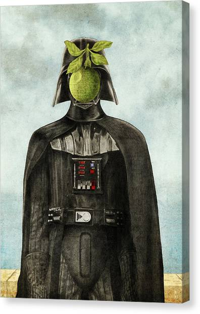 Star Wars Canvas Print - Son Of Darkness by Eric Fan