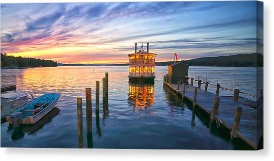 Songo River Queen Canvas Print