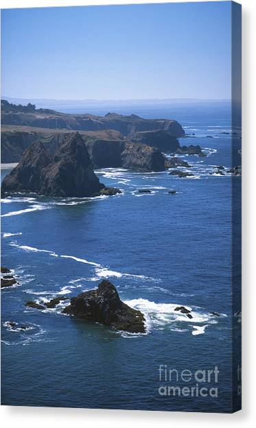 Ocean Of Emptiness Canvas Print - Sonoma California by Chris Selby