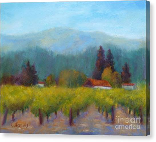 Sonoma Valley View Canvas Print