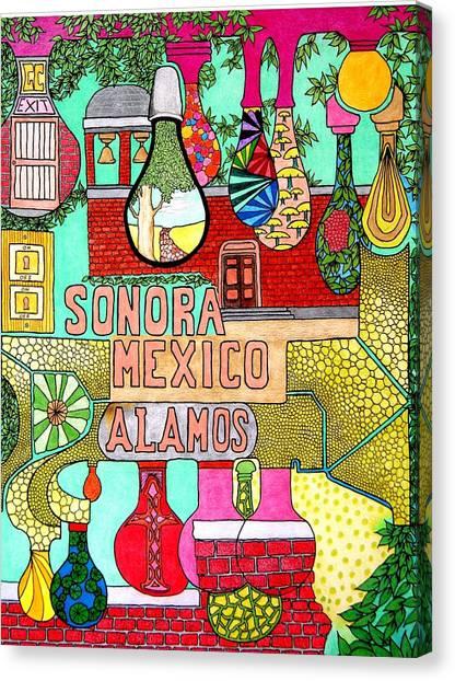 Sonora Lights 01 Canvas Print