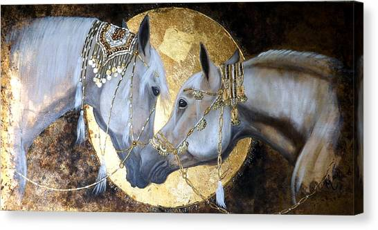 Arabian Desert Canvas Print - Son's Of Amun-ra by Inge Manders