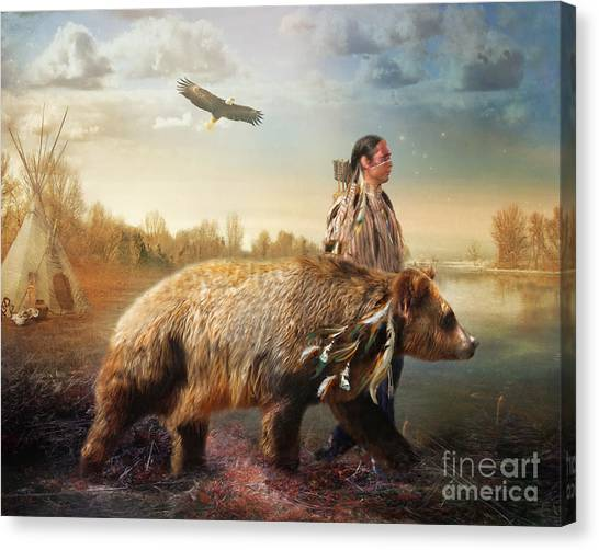 Sons Of The Earth Canvas Print