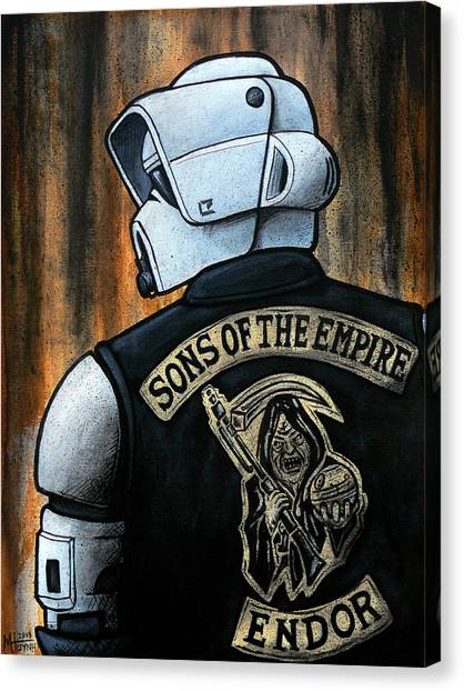 Scouting Canvas Print - Sons Of The Empire by Marlon Huynh