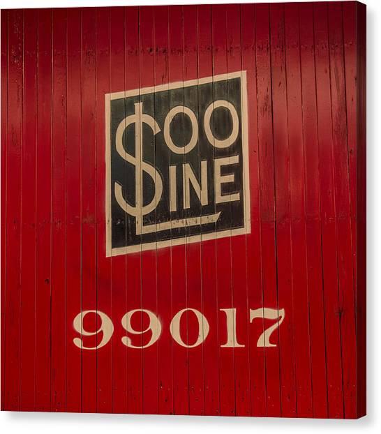 Soo Line Box Car Canvas Print