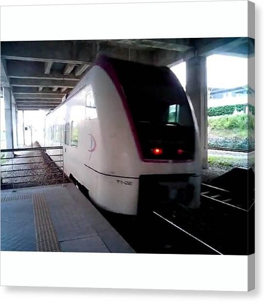 Trainspotting Canvas Print - Soon I Will Be #trainspotting At Kuala by Yukken Pierz