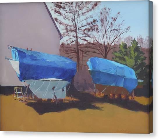 Soon To Be Seaworthy Canvas Print