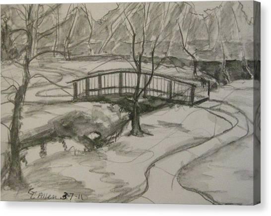 Sope Creek Bridge Canvas Print