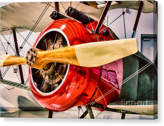 Aviators Canvas Print - Sopwith Camel by Inge Johnsson