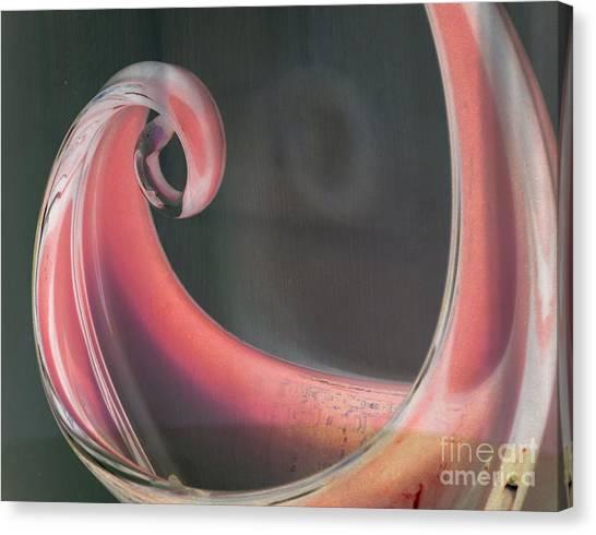 Sorbet Curve Canvas Print