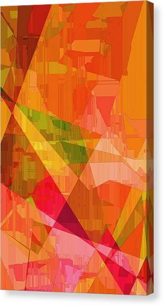 Sorbet Canvas Print - Sorbet by Wendy J St Christopher