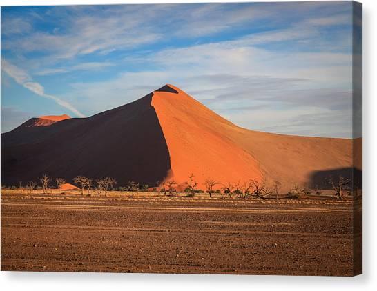 Sossusvlei Park Sand Dune Canvas Print