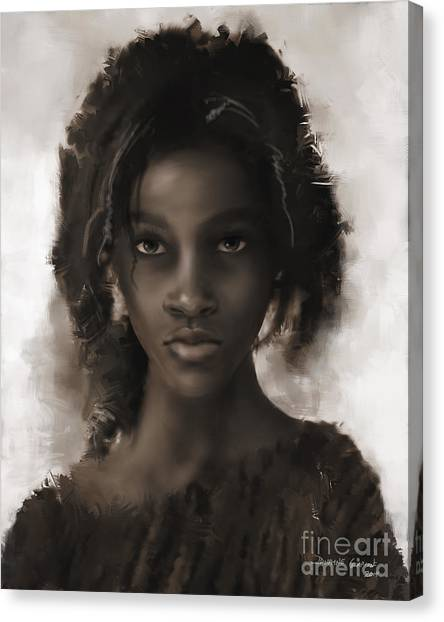 Canvas Print featuring the digital art Soul For Sale by Dwayne Glapion