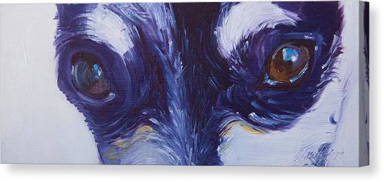 Soul Of The Dog #4 Canvas Print