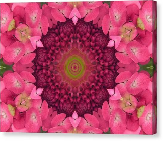 Soul Sister Mandala Canvas Print
