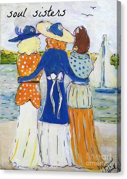 Soul Sisters I Canvas Print