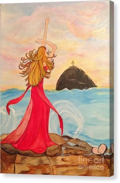 Soul Surrender   Canvas Print by Michelle Bentham