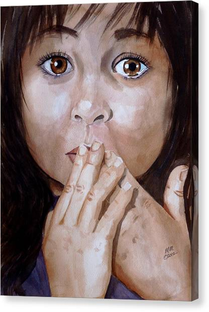Soul Tears Canvas Print