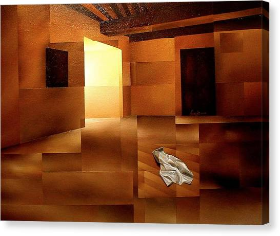 Sound Of Silence Canvas Print by Laurend Doumba
