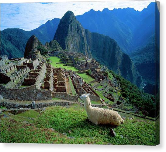 Andes Mountains Canvas Print - South America, Peru by Jaynes Gallery