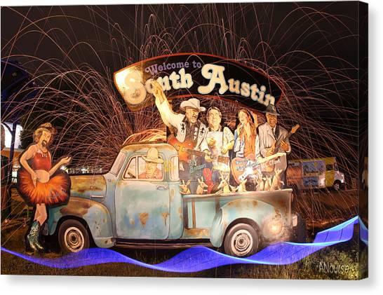 South Austin Canvas Print