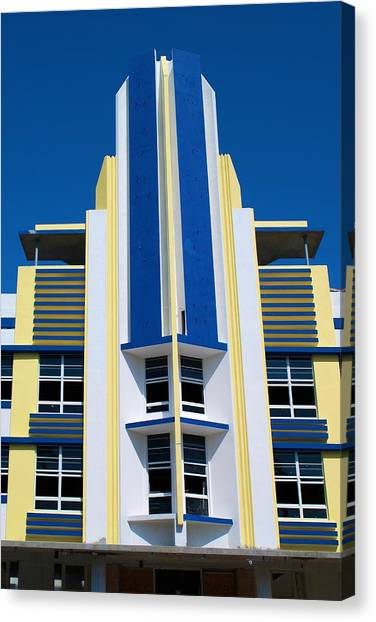 South Beach 2 Canvas Print